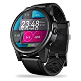 Bestmemories 4G SmartWatch 1.6 inch Crystal Display GPS/GLONASS Quad Core 16GB 600mAh Hybrid Leather Straps Smart Watch