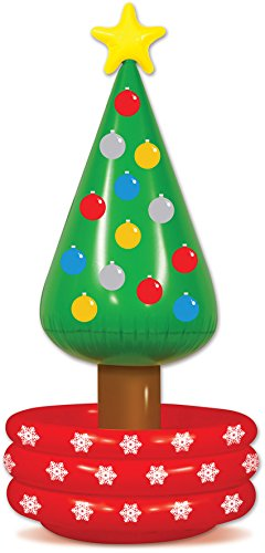 Beistle 20020 Inflatable Christmas Tree Cooler, 26