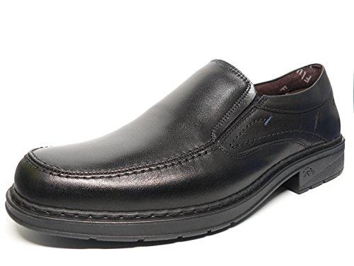 39 Zapatos hombre Negro mocasín color 9483 80 FLUCHOS Piel negro tipo PzrdqwP