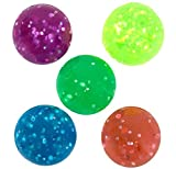 Best Bouncy Balls - SuperBouncyBalls.com FBA LYSB009B0UDTI-Toys 27mm Glitter Bouncy 1 Gross Review