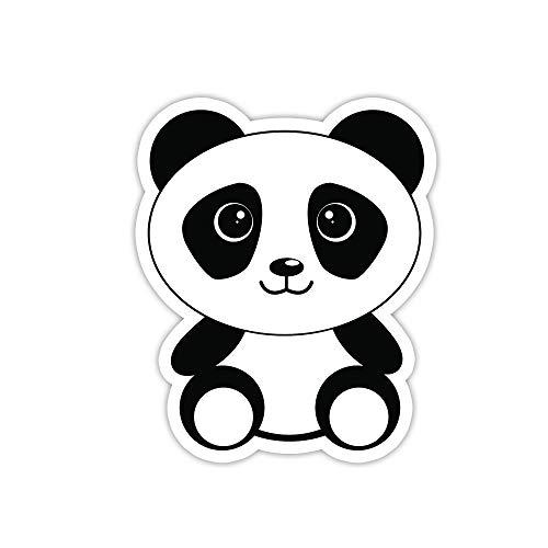 Vinyl Panda (Panda Bear Sticker - Laptop Stickers - 3