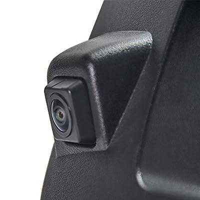 Chevy Silverado and GMC Sierra Rear View Camera Backup Tailgate Handle Camera for Chevy Silverado and GMC Sierra Years 2007-2013,Tailgate Door Handle Replacement Camera(Color: Black): ecoconut