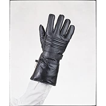 Amazon.com: Mens Leather Motorcycle Winter Gloves w/ Rain