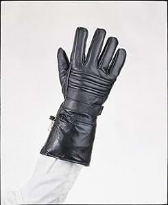 Amazon.com: Mens Leather Motorcycle Winter Gloves w/ Rain
