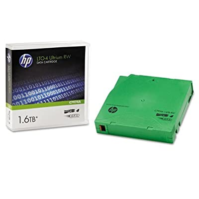 HP LTO Ultrium-4 Data Tape ( HP C7974A - 800/1.6TB), Model: 804887, Gadget & Electronics Store by hp