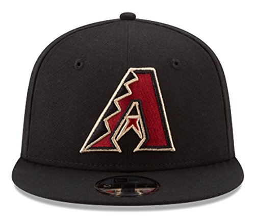 fan products of New Era Arizona Diamondbacks Snapback MLB National League patch Black