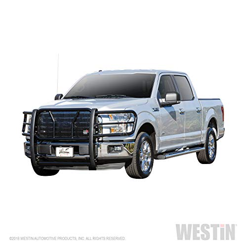 Sport Westin Grill Guards - Westin 57-3835 Black HDX Grille Guard