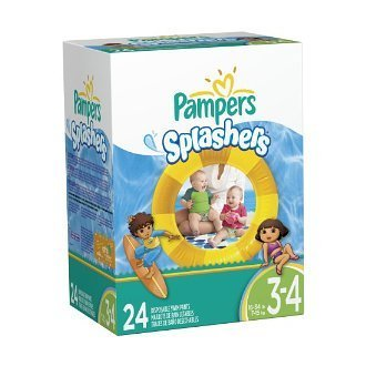 PAMPER SPLASHER SIZE 3/4 5 BOXES by PAMPERS