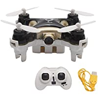 Mini CX-10C 2.4G 4CH 6-Axis RC Quadcopter Drone With 0.3MP Camera Great Drone For Kids and Beginners - Black