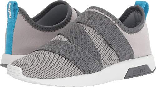 Native Kids Shoes Phoenix (Little Kid) Pigeon Grey/Dublin Grey/Shell White 1 Little Kid