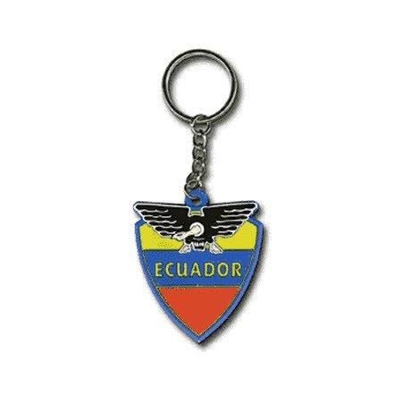 ekuador llavero (goma)