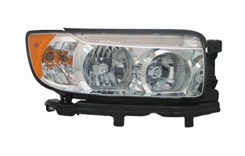 Subaru Forester 05-08 Headlight Assembly (07-08 without Sport Package) Halogen RH USA Passenger Side CAPA