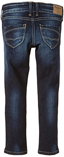 Pepe Jeans Blue J08 niñas 11oz Blau Saber para Dk New Denim Steel Used Vaqueros TAndPTr6