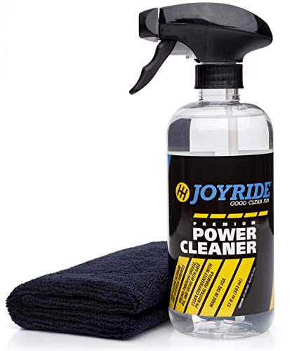 JoyRide Multi-Purpose Car Cleaner Kit - Effective All Purpose Cleaner - Best for Leather Vinyl Carpet Upholstery Plastic Rubber and More - 17 oz Kit