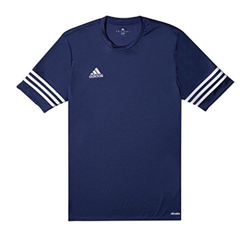 Adidas Marine Entrada Bleu Ans Maillot blanc 14 TwrqT4