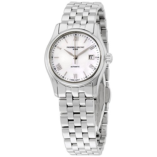 Frederique Constant Classics Index Mother of Pearl Dial Stainless Steel Ladies Watch FC-303MPWN1B6BXG (Certified Refurbished)