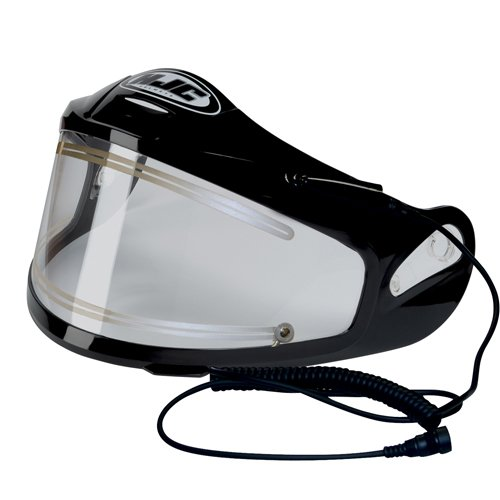 Hjc Cl 15 (HJC Electric Shield for AC-12, HJ-09, Carbon, CL-SP and CL-15 Helmet - Black)