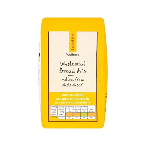 Wholemeal Bread Mix 50 Waitrose Love Life 500g - Pack of 6