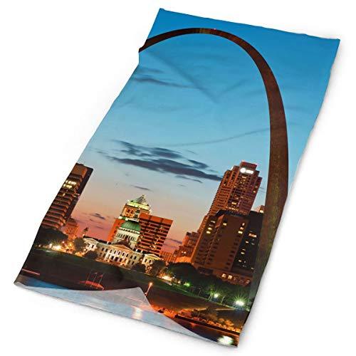 SuBenSM St. Louis Skyline Headband Bandana£¬Outdoor Multifunctional Headwear,Magic Scarf for Men Women]()