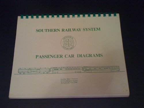 tem Passenger Car Diagrams. Mechanical Department. (Southern Railway System)