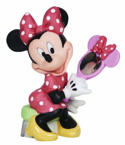 (Precious Moments, Disney Showcase Collection, Your Beauty Shines From The Heart, Bisque Porcelain Figurine, 134700)