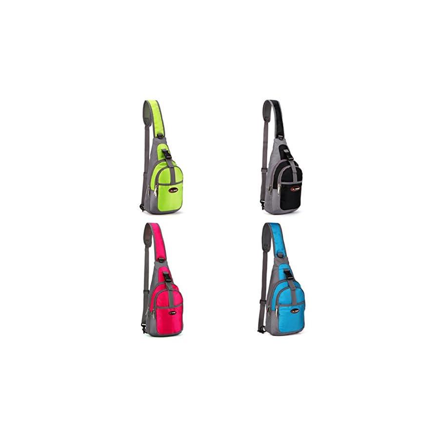 Workouty Sport Shoulder Bag Outdoor Casual Backpack Sling Chest Bag