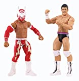 WWE Battle Pack Sin Cara vs. Cody Rhodes Action Figure, 2-Pack