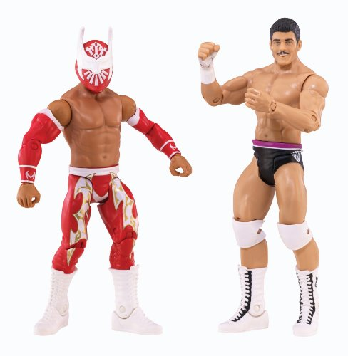 WWE Battle Pack Sin Cara vs. Cody Rhodes Action Figure, 2-Pack by Mattel