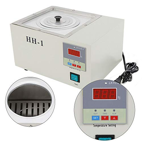 - 110V Digital Water Bath Electric Thermostatic Temperature Water Bath Single Hole Electric Heating