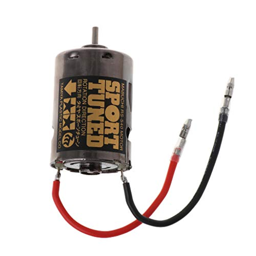 GMSP 53068 OP68 RS540 Sport Tuned Motor 23T Brushed 540 Hop Up Options High Speed for 1/10 Scale Hobby Car Models Replacement ()