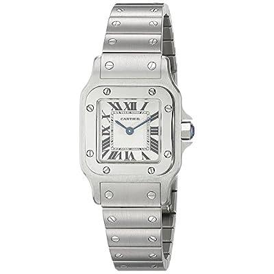 Cartier Women's W20056D6 Santos Stainless Steel Casual Watch