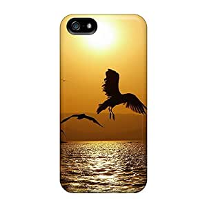 Anti-scratch And Shatterproof Nature View Phone Case For Iphone 5/5s/ High Quality Tpu Case