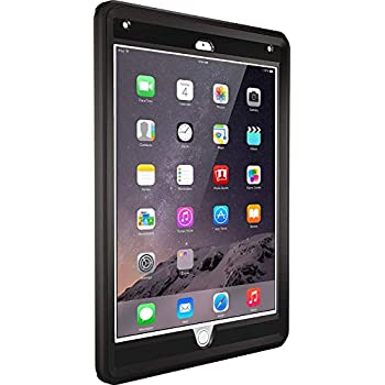 newest collection 940bf 4fc6b OtterBox Defender Series Case for iPad Air 2 - Black (Renewed)