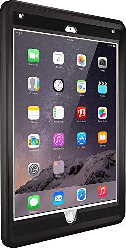 OtterBox Defender Series Case for iPad Air 2 - Black (Renewed)
