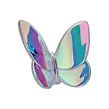 Image of Home and Kitchen Baccarat Clear Iridescent Lucky Butterfly 2601482