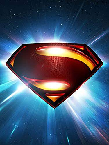 5D Full Drills Diamond Painting Kits for Adults with DC Justice League Super-Hero Super Man Home Wall Decor11.8x15.7in-13 (Painting Super Hero Wall)