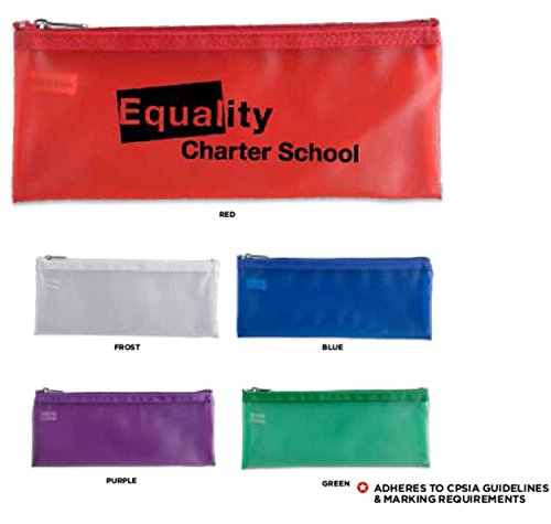 150 Personalized Teach-It Pencil Pouch Imprinted with Your Logo or Message by Ummah Promotions