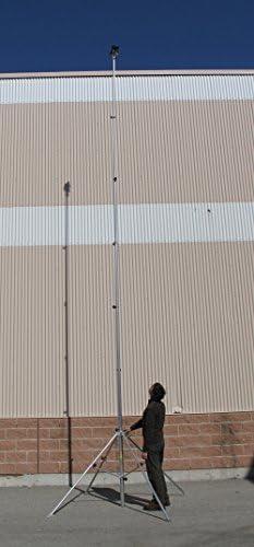 hi-view20 telescópico trípode con 4 Patas Ajustables y 20 ft ...