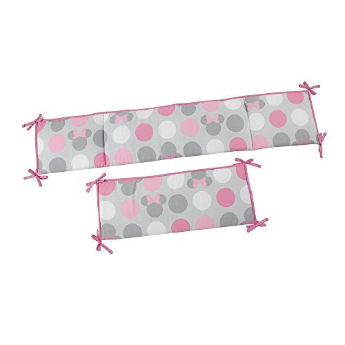 minnie mouse crib bumper - 8