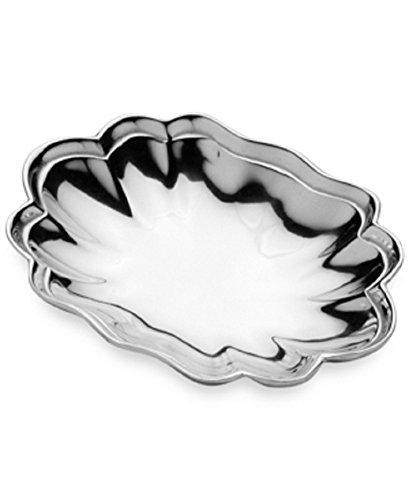 - Wilton Armetale Harmony Small Aluminum Alloy Bowl, Silver (9.5 x 7-in)