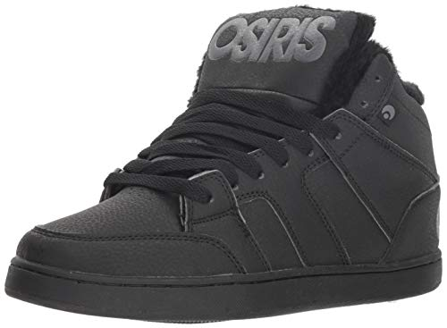 d753c0274c Osiris Men's Convoy Mid SHR Skate Shoe, Black/Charcoal, ...