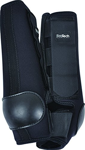 Classic Nylon Boot Equine (Classic Equine Pro Tech Boots Hind Medium Black)