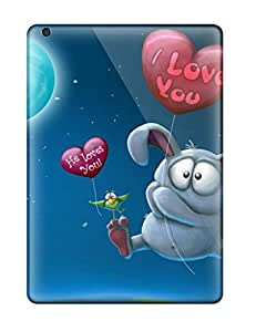 Kara J smith's Shop Hot New Arrival Cover Case With Nice Design For Ipad Air- I Love You He Loves You 2524406K14870543