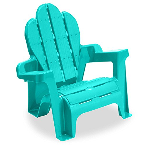 Cheap American Plastic Toys Adirondack Chair (Aqua)