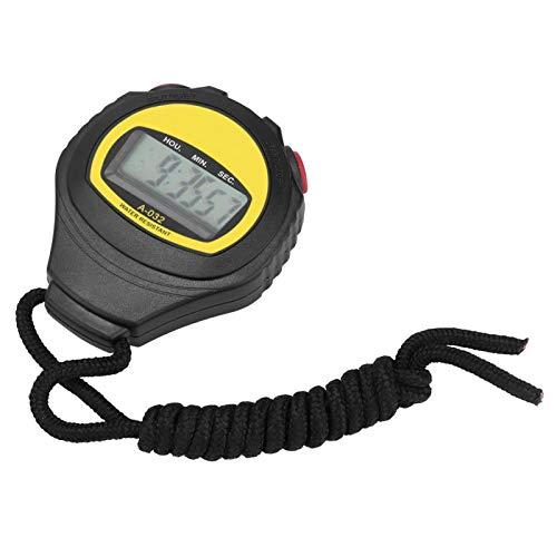 Multifunctionele fitnesstimer Sportstopwatch, waterdichte stopwatches Groo-t display met datum, tijd en tijdalarmfunctie…
