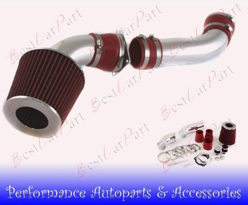 97 98 99 00 Ford Explorer/Ranger 4.0L V6 SOHC Cold Air Intake FD-10R(Include Air Filter)RED