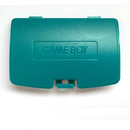 Game Boy Battery Cover Color (Gameboy Color GBC Game Boy Colour Replacement Battery Cover - Blue-Green)