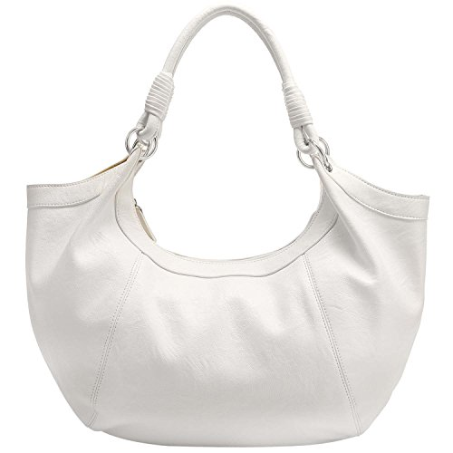 White Hobo Handbags - 2