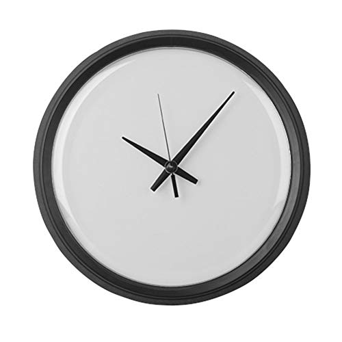 128 buyloii Plain Blank - 10 Inch Round Wall Clock, Unique Decorative Clock. ()
