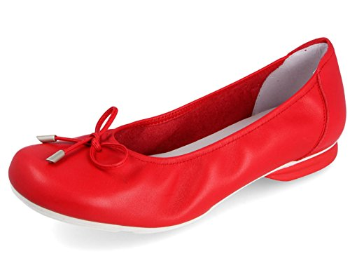 Ballerine Rosso Shoeshop Sabrinas City Shoeshop City 8tOpnx6n